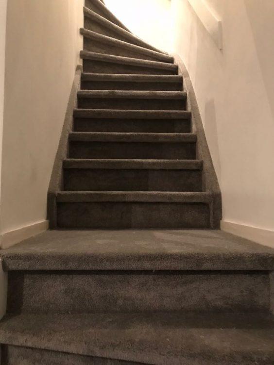 traprenovatie tapijt