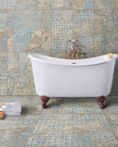 Stonerbell keramische tegel Multi vloer Doetinchem