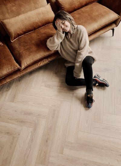 laminaat visgraat vloer