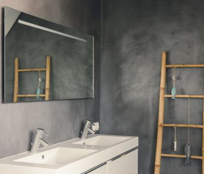betonciré vloer en wand afwerking